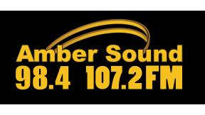 Amber Sound 107.2FM Derbyshire  288x162 Logo