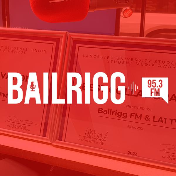 Bailrigg FM 600x600 Logo
