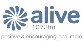 Alive Radio 107.3FM 288x162 Logo