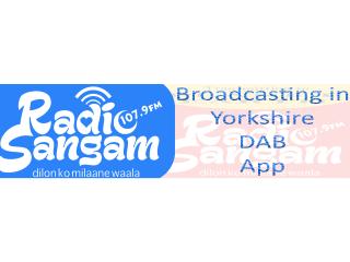 Radio Sangam The UKs most followed Asian Music Station 320x240 Logo