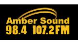 Amber Sound 107.2FM Derbyshire  160x90 Logo
